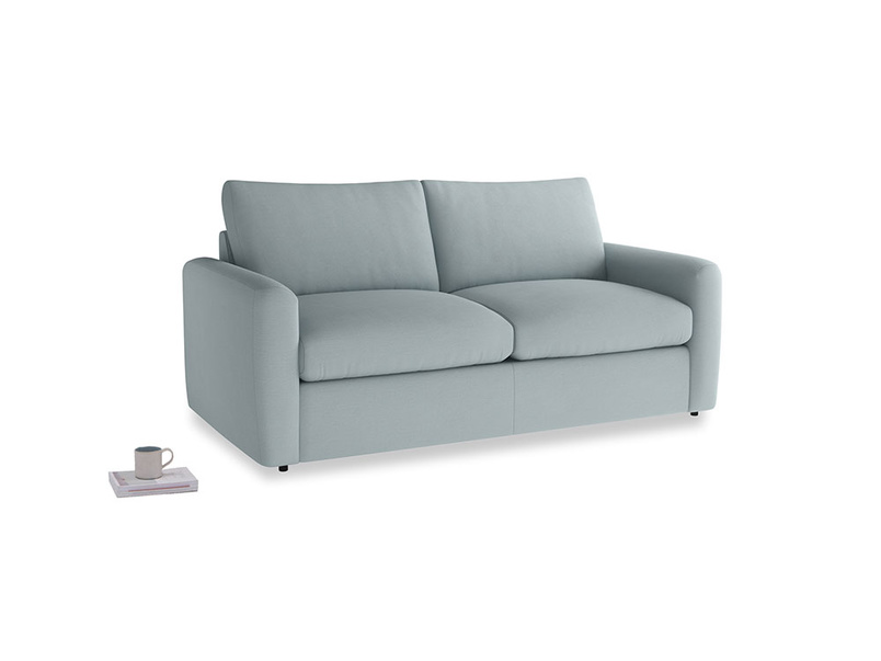 Chatnap Sofa Bed in Quail's egg clever linen with both arms