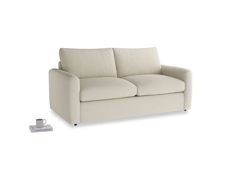 Chatnap Sofa Bed in Pale rope clever linen with both arms