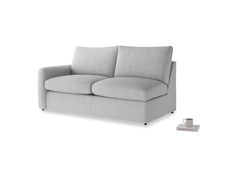 Chatnap Sofa Bed in Cobble house fabric with a left arm