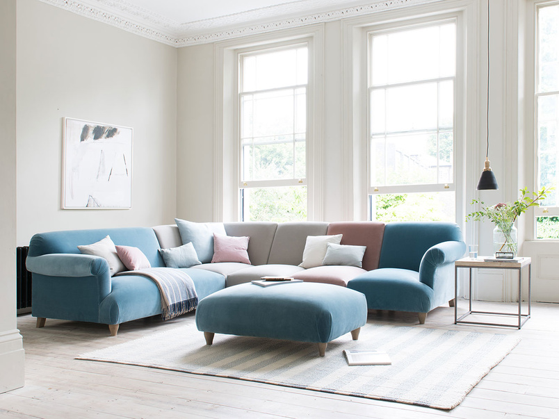 Soufflé contemporary modular sofa