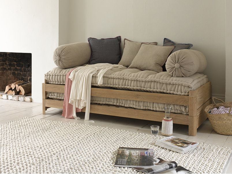 Two pack makes a lovely daybed with cushions