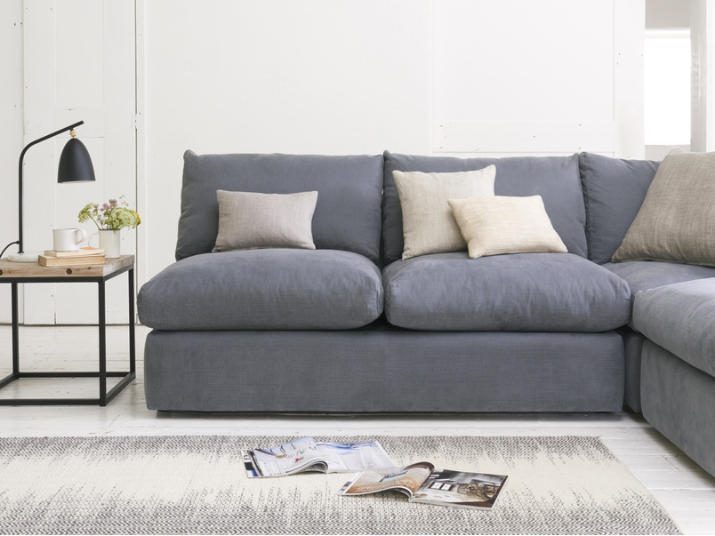 Super comfy Chatnap modular or sectional corner sofa with handy storage space