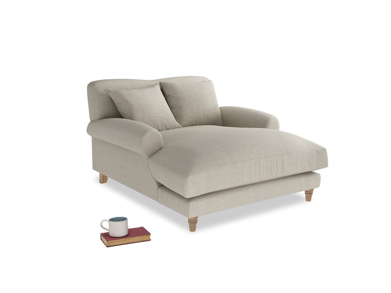 Extra deep Crumpet love seat chaise