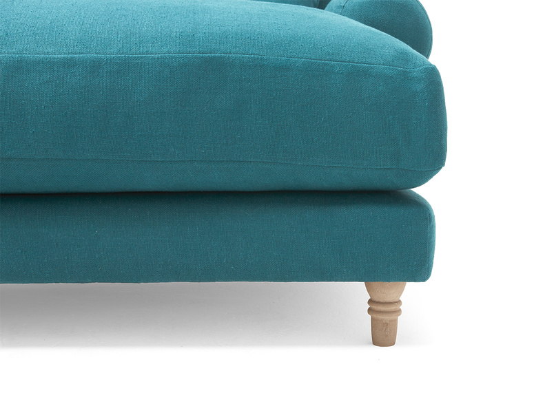 Snuggle Crumpet love seat chaise