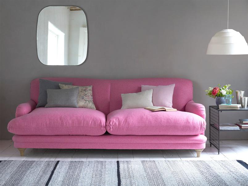 Luxury British Pudding contemporary and extra comfy sofa