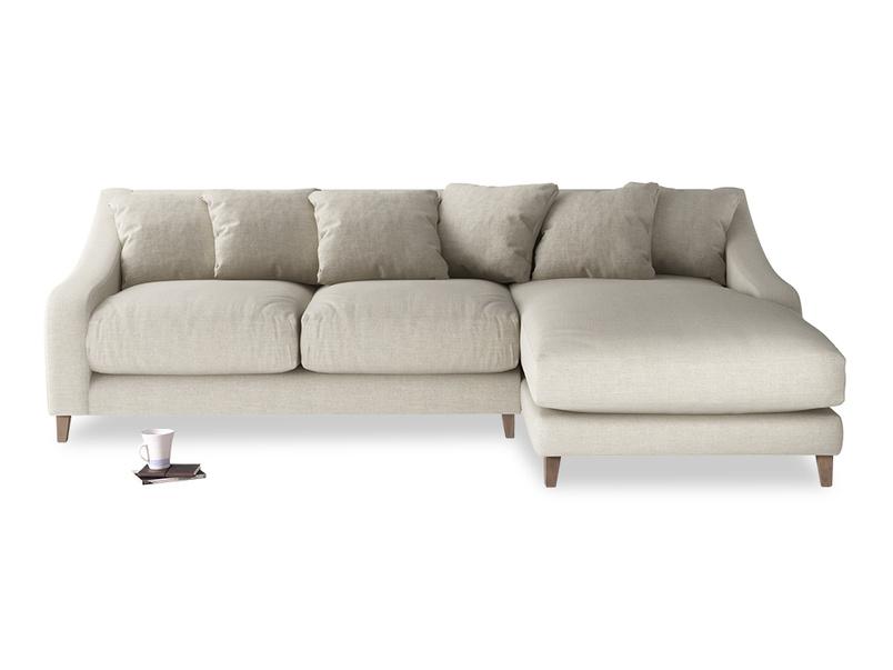Classic Oscar Chaise sofa deep and comfy sofa handmade in Britain