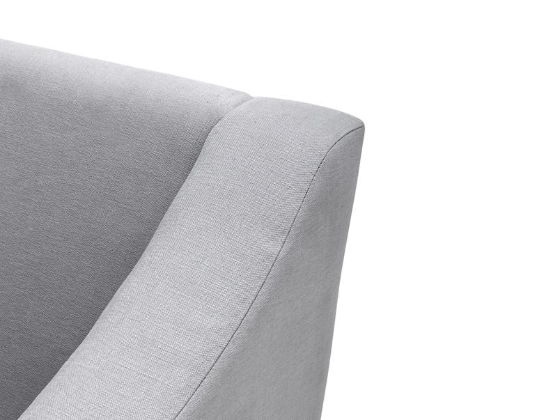 British made luxury Oscar Chaise corner sofa, very comfortable