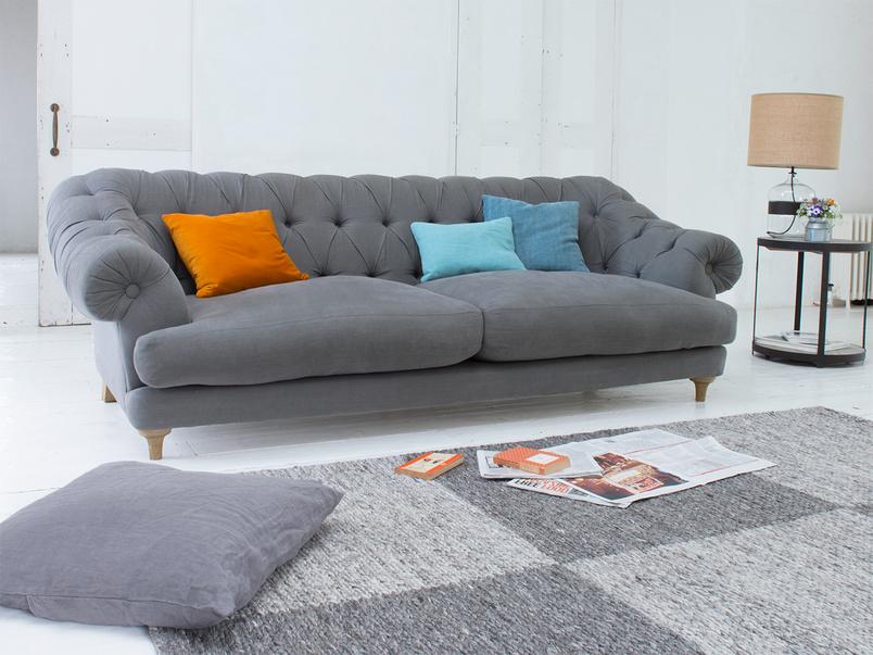 Chesterfield deep British made stylish classic Bagsie sofa