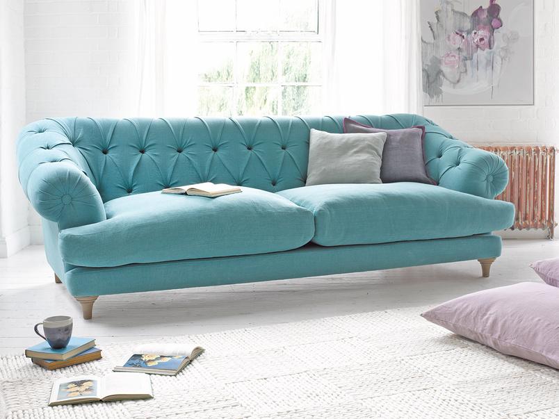 Chesterfield deep British made Bagsie luxury sofa