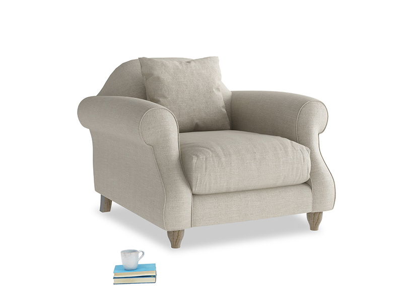 Beautiful Sloucher very comfy armchair