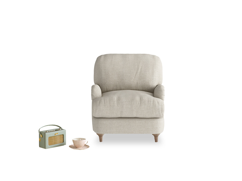 Jonesy comfy British made deep luxury armchair