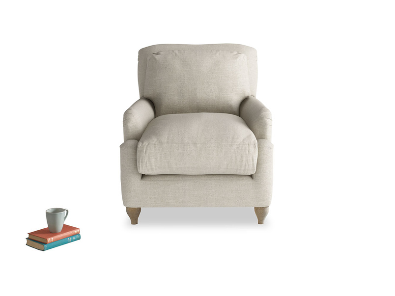 British made deep comfy luxury Pavlova armchair
