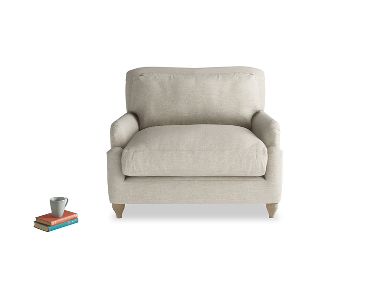 Stunning Pavlova very comfy love seat and snuggler