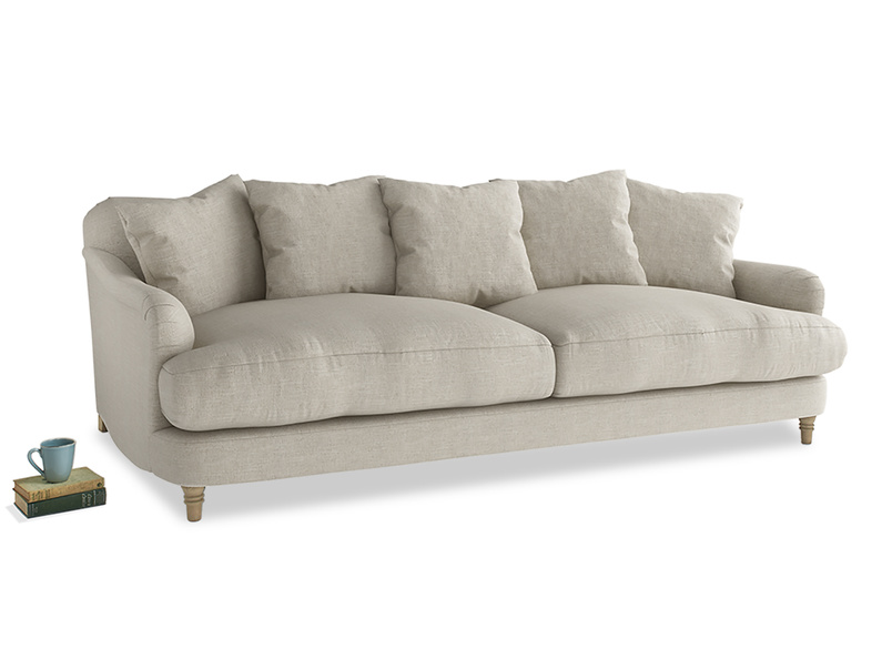 Deep curved gorgeous Achilles sofa