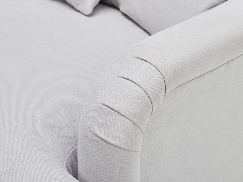 Achilles British made beautiful love seat and snuggler sofa