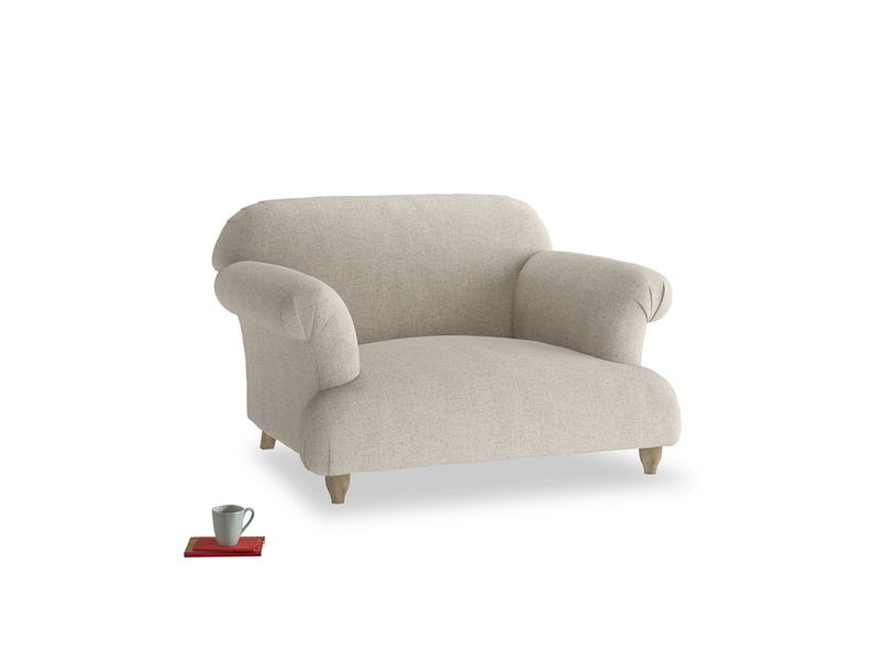 Authentic very comfy Soufflé snuggler and love seat