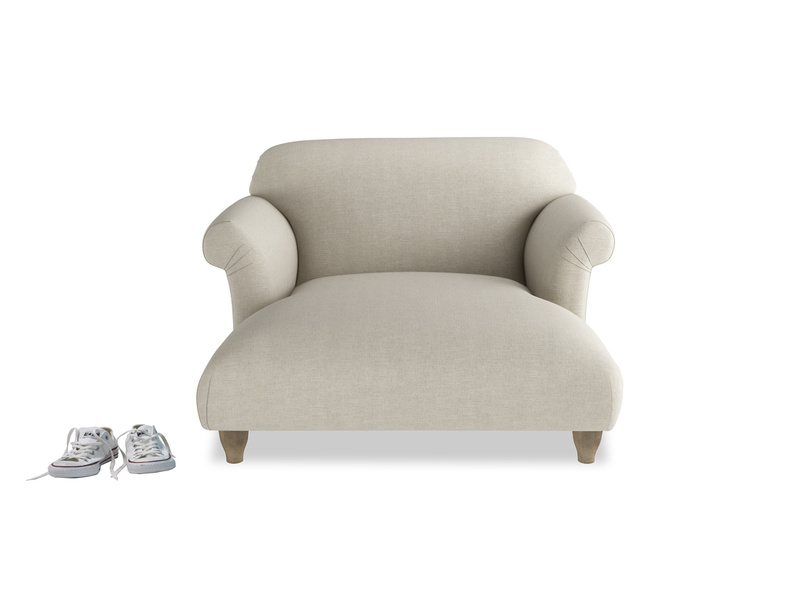 Feather free Souffle love seat chaise