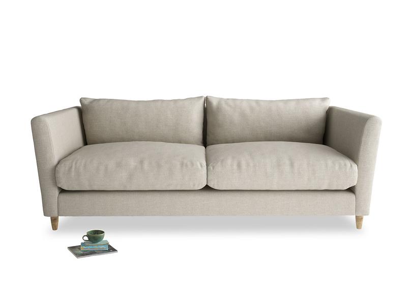 Luxury modern extra comfy Flopster sofa handmade in Blighty