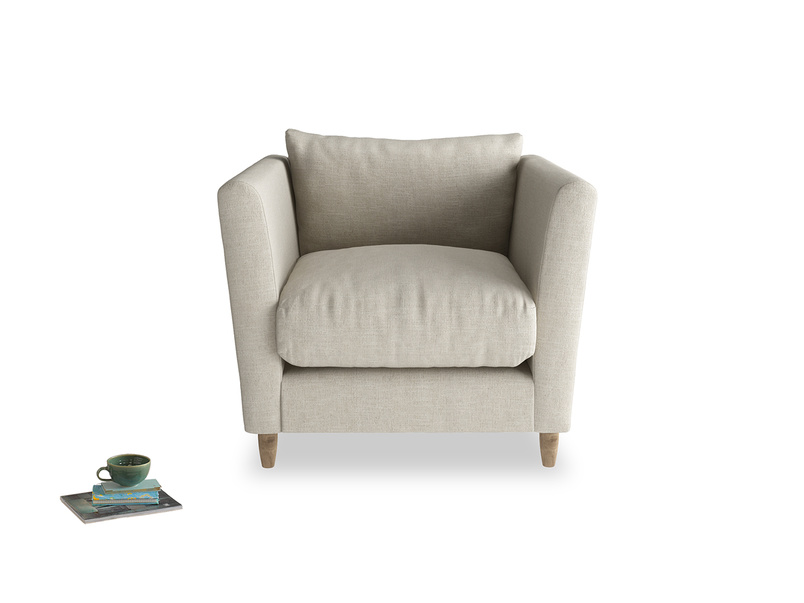 Flopster contemporary British made luxury comfy armchair