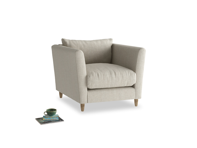 Contemporary Flopster comfy British made luxury armchair