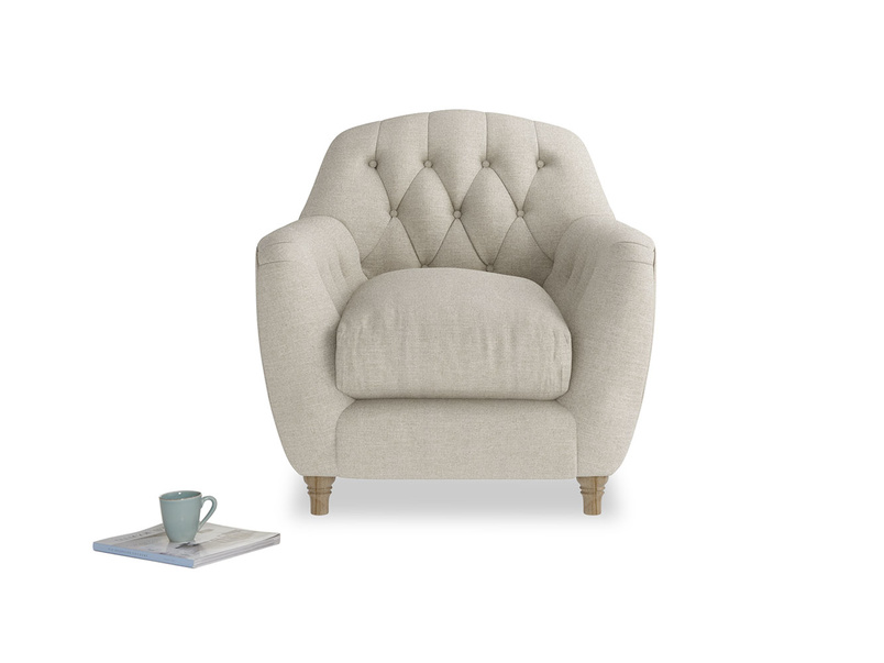 Chesterfield Butterbump button back armchair