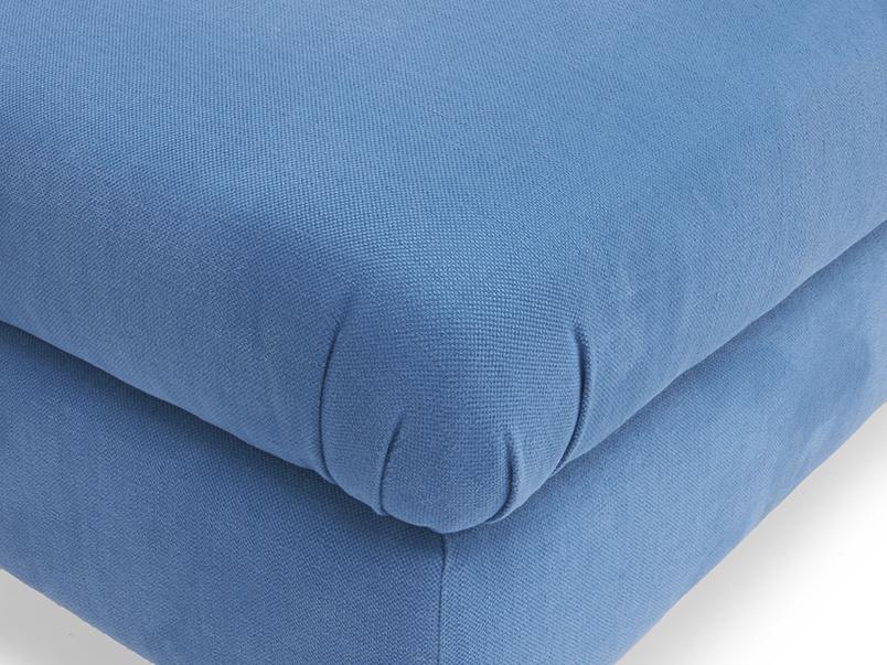 Flatster handmade fabric stylish upholstered footstool