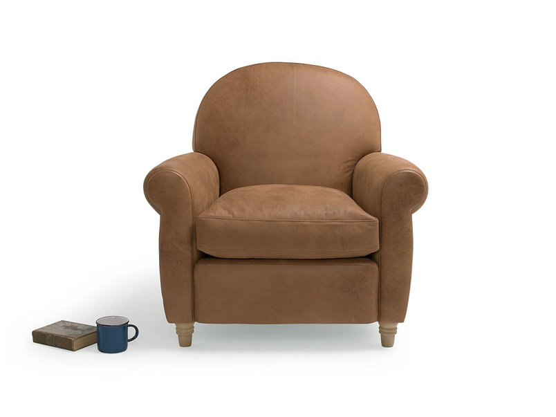 Classic small Club occasional very comfy armchair