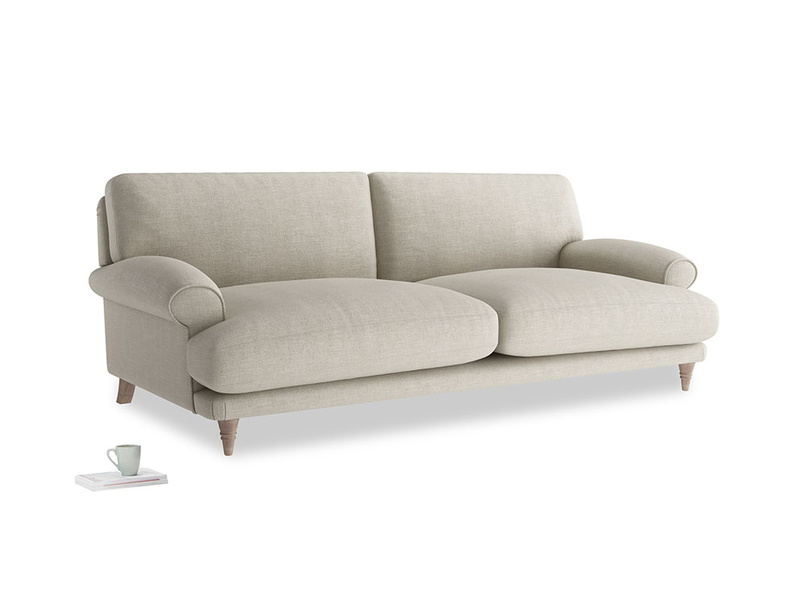 Slowcoach deep seated upholstered sofa