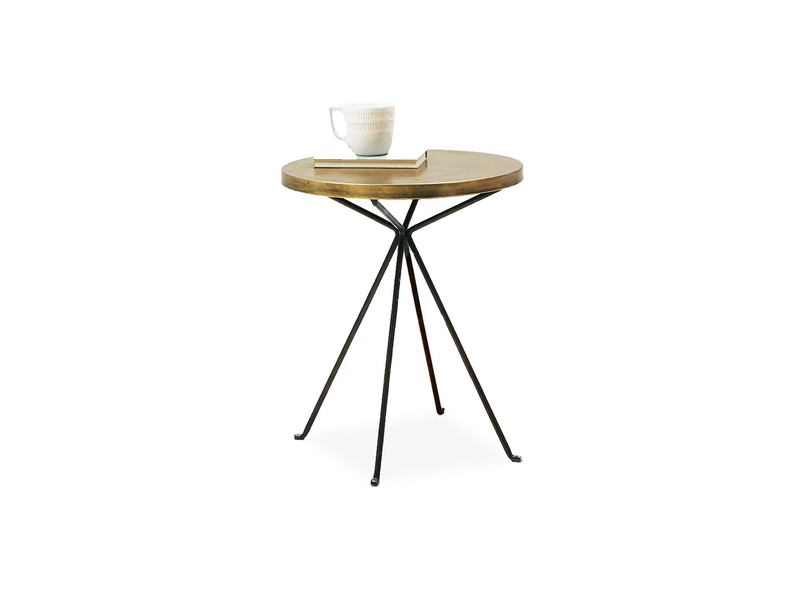 Quid bronze side table