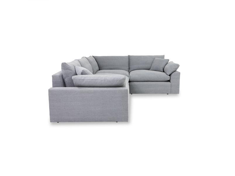 Cuddlemuffin comfy sectional corner sofa