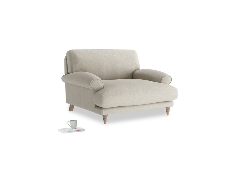British made luxury Slowcoach love seat and snuggler sofa