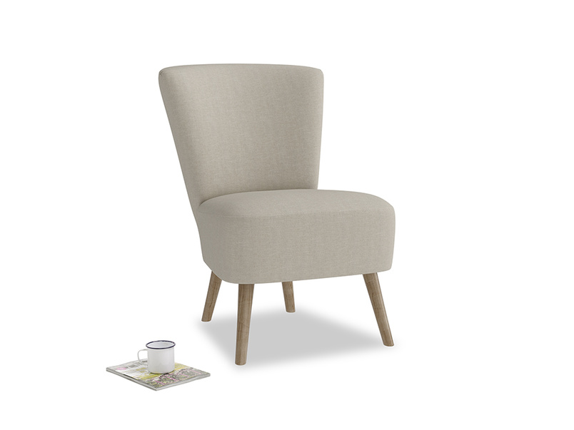 Bellini Armchair in Thatch house fabric