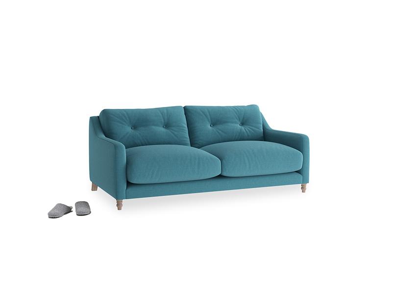 Small Slim Jim Sofa in Lido Brushed Cotton