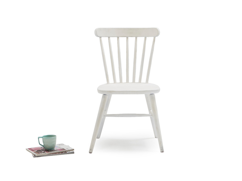 Natterbox dining chair in Calm White