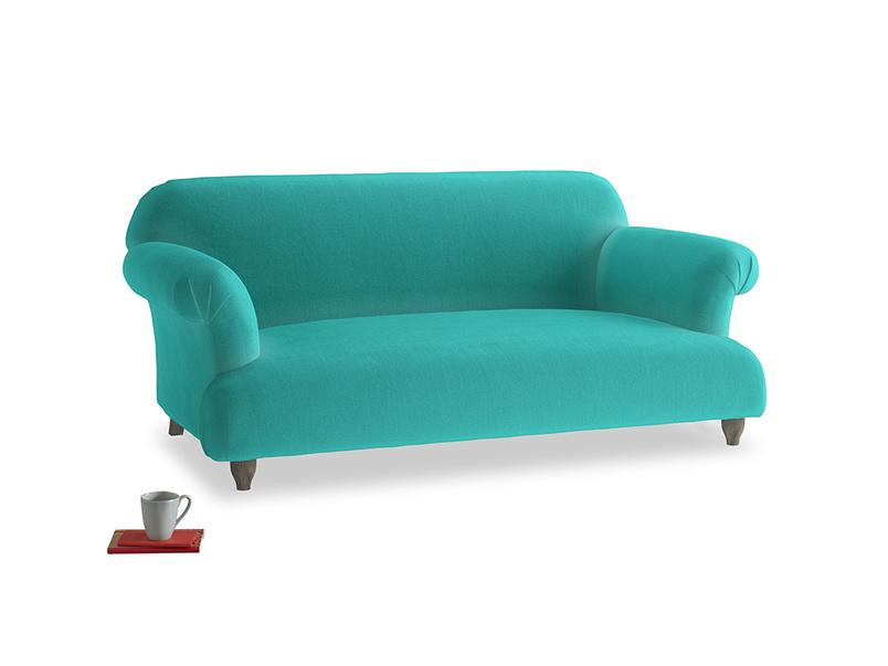Medium Soufflé Sofa in Fiji Clever Velvet