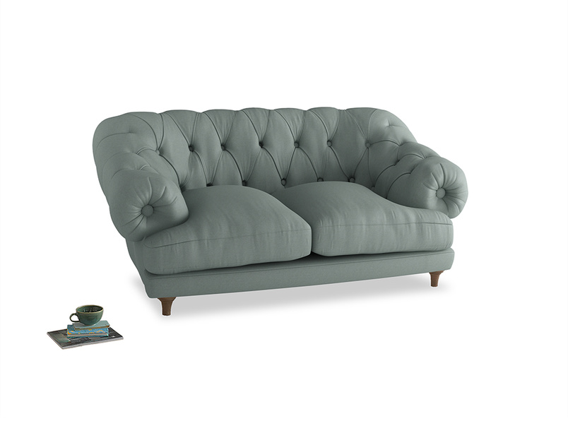 Small Bagsie Sofa in Sea fog Clever Woolly Fabric