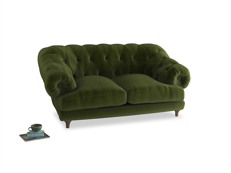 Small Bagsie Sofa in Good green Clever Deep Velvet