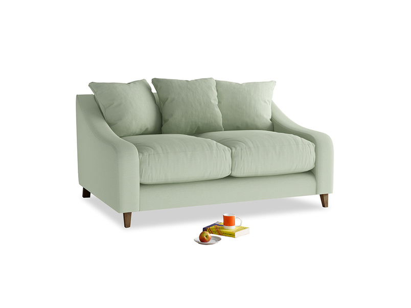 Small Oscar Sofa in Powder green Clever Linen