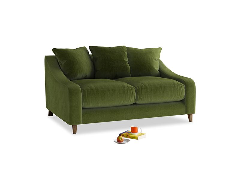 Small Oscar Sofa in Good green Clever Deep Velvet