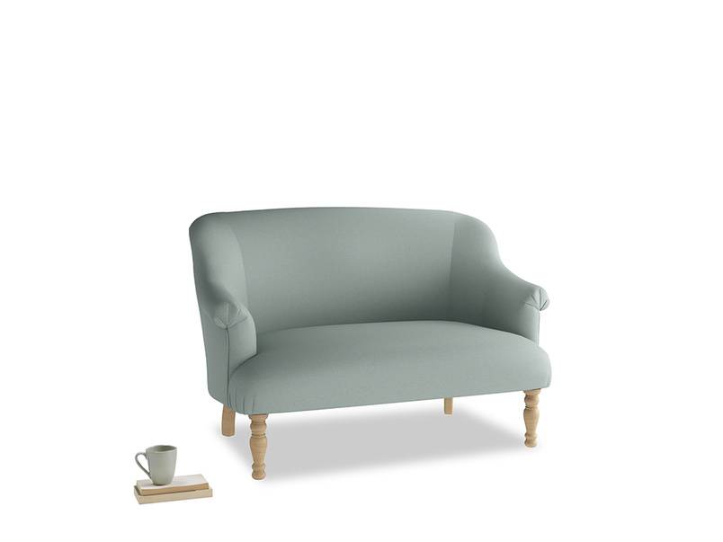 Small Sweetie Sofa in Sea fog Clever Woolly Fabric
