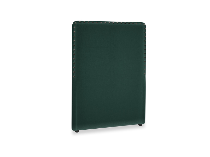 Single Smith Headboard in Dark green Clever Velvet