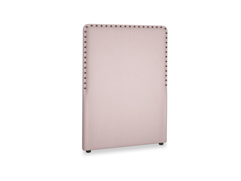 Single Smith Headboard in Potter's pink Clever Linen