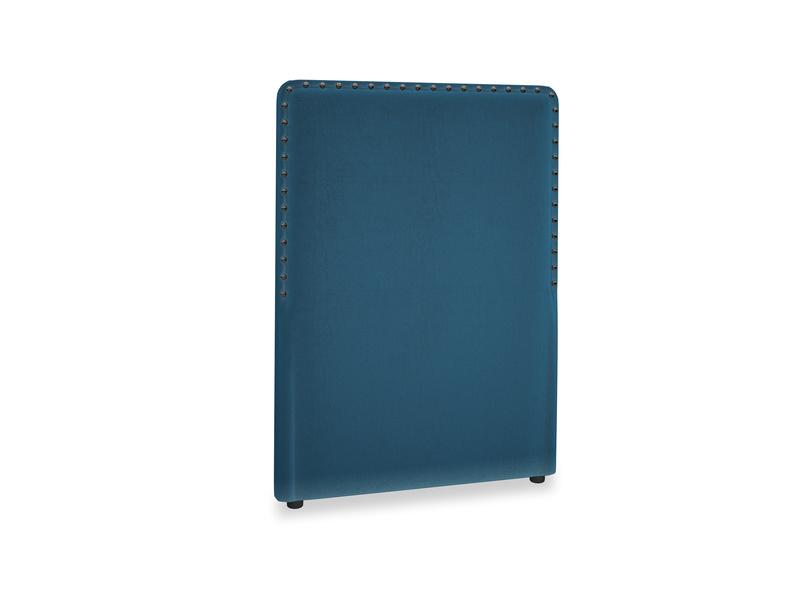 Single Smith Headboard in Twilight blue Clever Deep Velvet