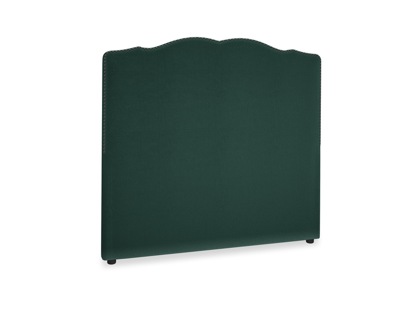 Double Marie Headboard in Dark green Clever Velvet