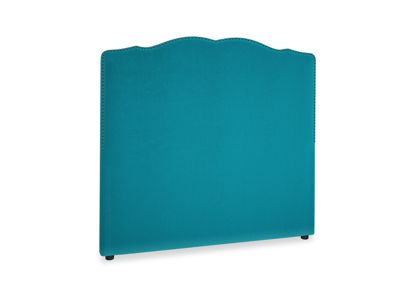 Double Marie Headboard in Pacific Clever Velvet