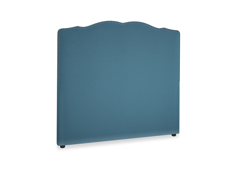 Double Marie Headboard in Old blue Clever Deep Velvet