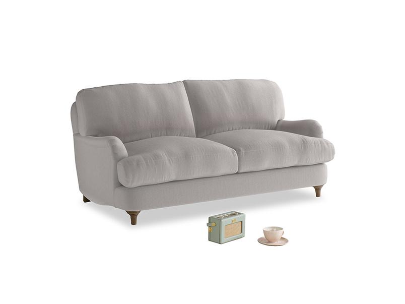 Small Jonesy Sofa in Mouse grey Clever Deep Velvet