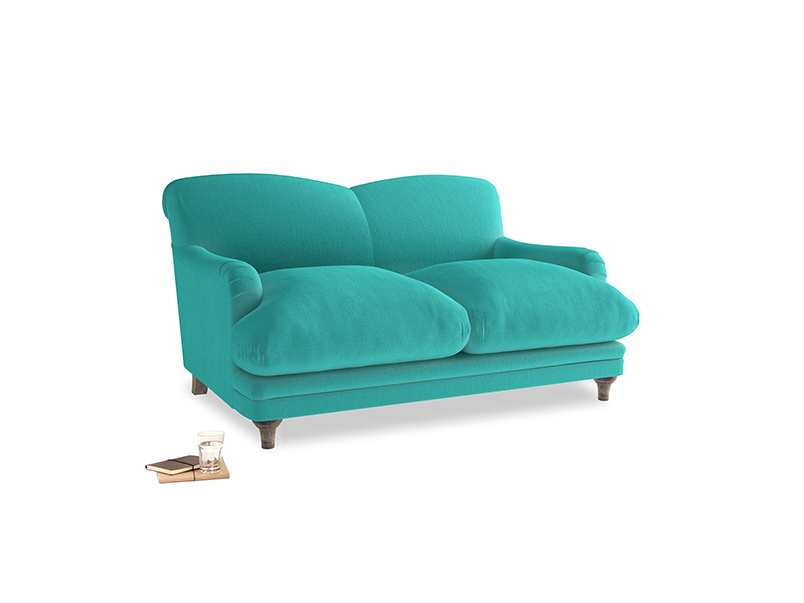 Small Pudding Sofa in Fiji Clever Velvet