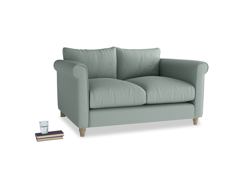 Small Weekender Sofa in Sea fog Clever Woolly Fabric