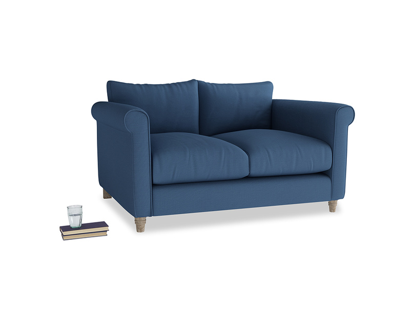 Small Weekender Sofa in True blue Clever Linen